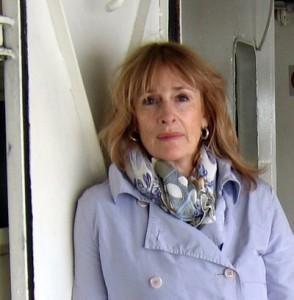Robin Paine in her studio